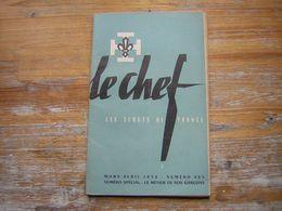 REVUE LE CHEF  LES SCOUTS DE FRANCE  MARS AVRIL 1952  N° 285  NUMERO SPECIAL : LE METIER DE NOS GARCONS - Movimiento Scout