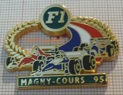 F1  MAGNY-COURS  95 1995 WILLIAMS RENAULT  FERRARI Cartouche Vert En Version ZAMAC - F1
