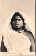 CEYLAN - A Tamil Coolie Woman - Sri Lanka (Ceylon)