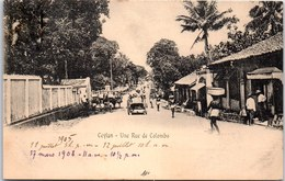 CEYLAN - Une Rue De COLOMBO. - Sri Lanka (Ceylon)