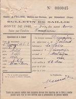 BELLOU SUR HUISNE PAR REMALARD EMILE AVELINE BULLETIN DE SAILLIE MONTE 1948 PAR L ETALON DENIER A GEMAGES MR GOULARD - France