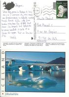 YT 871 - Lave Basaltique - Lettre De Reykjavik Pour La France - Covers & Documents