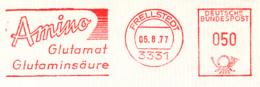 Freistempel 9675 Amino Gultamat Glutaminsäure - Marcophilie - EMA (Empreintes Machines)