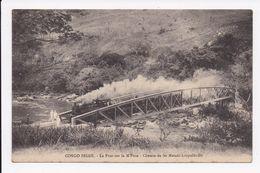 CP CONGO BELGE Le Pont Sur La M'Pozo Chemin De Fer Matadi Leopoldville - Belgisch-Congo - Varia