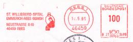 Freistempel 9750 St Willibrod Spital Patient Mit Pfleger - [7] République Fédérale