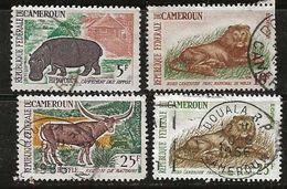 Cameroun 1962-1964 N° Y&T :  345,348,351 Et 351A Obl. - Cameroun (1960-...)