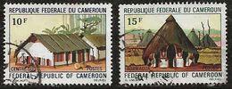 Cameroun 1972 N° Y&T :  515 Et 516 Obl. - Cameroun (1960-...)