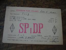 1937   Pologne Sp 1 Dp Carte Qsl Radio Amateur - Radio Amateur