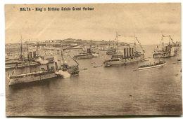MALTA King's Birthday Salute Grand Harbour - Malta