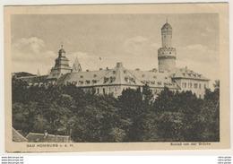 AK  Bad Homburg Vor Der Höhe Schloss Von Der Brücke 1921  _Kleinformat_ Ansichtskarte - Bad Homburg