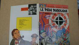 Black Et Mortimer,le Piège Diabolique,Edgar.P.Jacobs,edt Lombard - Blake Et Mortimer