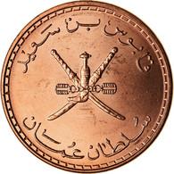 Monnaie, Oman, Qabus Bin Sa'id, 5 Baisa, 2008, British Royal Mint, FDC, Bronze - Oman