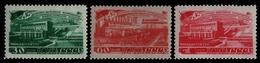 Russia / Sowjetunion 1948 - Mi-Nr. 1272-1274 ** - MNH - Stromerzeugung - 1923-1991 USSR