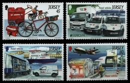 Jersey 2013 - Mi-Nr. 1714-1717 ** - MNH - Transport - Jersey