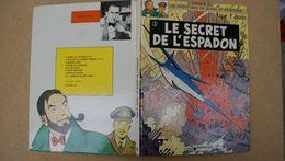 Black Et Mortimer,le Secret De L'espadon,Edgar.P.Jacobs,edt Lombard - Blake Et Mortimer