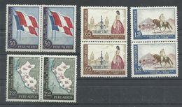 PERU  YVERT  AEREO  138/41  (PAREJA)   MNH  ** - Pérou