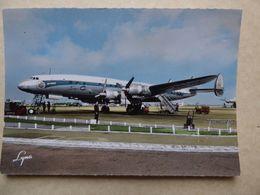 AEROPORT / AIRPORT / FLUGHAFEN        ORLY  SUPER  CONSTELLATION AIR FRANCE  F-BGNJ - Aérodromes