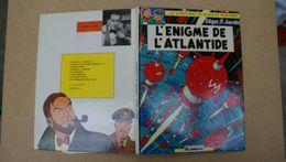 Black Et Mortimer,l'enigme De L'atlantide ,Edgar.P.Jacobs,edt Lombard - Blake Et Mortimer