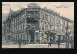 Heidelberg - Hotel Lang [Z03-6.421 - Germania