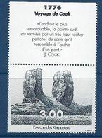 """TAAF YT 296  Vignette """" L'arche Des Kerguelen """" 2001 Neuf** - Neufs"""