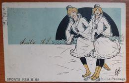 Sports Féminins 1905    E 17 - Kunstschaatsen