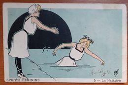 Sports Féminins.la Natation   E 17 - Zwemmen