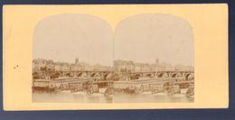 (photo Stereo) Paris écluse De La Monnaie   (PPP22975) - Stereoscopio