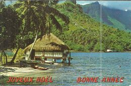 ( POLYNESIE  FRANCAISE ) ( MOOREA  ) HOTEL AIMEO PAO PAO MOOREA - Polynésie Française