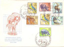 BERLIN FDC ZOOLOGISCHEN GARTEN  COVER   (GIUGN200084) - Stamps