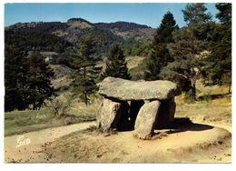 CPM   63 SAINT NECTAIRE    1983    DOLMEN - Dolmen & Menhirs