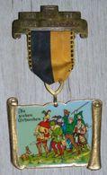 RARE - SELTEN - Médaille Carnaval IRAS STUTTGART 1989 / Die Sieben Schwaben - Karneval / Carneval - Théatre & Déguisements