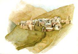 CPM - ILLUSTRATION Guy AMEYE - Paysage Montagne  (Aquarelle) - Edition B.Grange / Valloire - Autres Illustrateurs