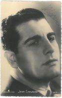 CPSM Photo Dédicacée JEAN CHEVRIER ( Autographe ) - Photo Continental Films N°122/A - Schauspieler