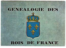 CPM  GENEALOGIE DES ROIS DE FRANCE -   SOUCHE DE LA MAISON D ORLEANS - Genealogie