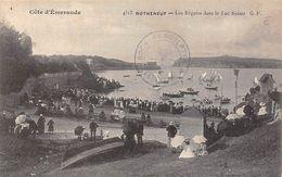 Thème Sport Nautique:   :  Voile     Les Régates Sur Le Lac Suisse à Rothéneuf   35    Voir Scan) - Zeilen