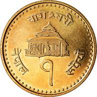 Monnaie, Népal, SHAH DYNASTY, Gyanendra Bir Bikram, Rupee, 2004, Kathmandu - Nepal