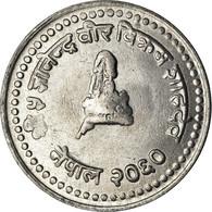 Monnaie, Népal, SHAH DYNASTY, Gyanendra Bir Bikram, 25 Paisa, 2003, Kathmandu - Nepal