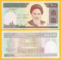 Iran 1000 Rials P-143f 2007 UNC Banknote - Irán