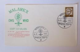 Sonderbrief Kampf Der Malaria  OMS-WHO  Anti Malaria Briefmarken München♥(37155) - WHO