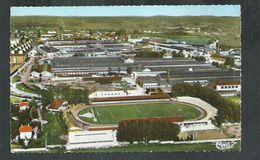 Doubs. Montbeliard, Vue Aérienne Du Stade De Football Et Des Usines Peugeot - Montbéliard