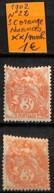 NB - [838309]TB//**/Mnh-Port Saïd 1902 - N° 22, 3c Orange, Nuances - Neufs