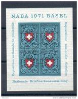 Suisse. Exposition Nationale De Philatélie. Bale. 1971 - Blocks & Sheetlets & Panes