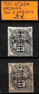 NB - [838322]TB//**/Mnh-Port Saïd 1924 - N° 69A, Les 2 Papiers - Neufs