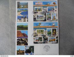 FDC (2) Grand Format France 2006 : La France à Voir (série Complète 2 BF) - FDC