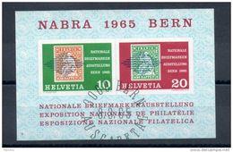 Suisse. Bloc Feuillet.  Exposition Philatélique Berne 1965 - Blocks & Sheetlets & Panes