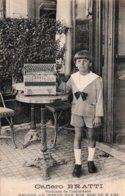 CPA   CAFIERO BRATTI---VIRTUOSE DE L'ACCORDEON---UNIQUE AU MONDE PAR SON AGE DE 6 ANS---JOUE DE L'ACCORDEON G.RANCO - Muziek En Musicus