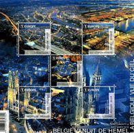 2016 - BL 239 - La Belgique Vue Du Ciel - Velletjes