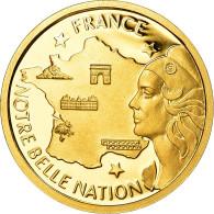 France, Medal, French Fifth Republic, Politics, Society, War, FDC, Or - Otros