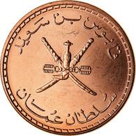 Monnaie, Oman, Qabus Bin Sa'id, 5 Baisa, 2008, British Royal Mint, SPL+, Bronze - Oman