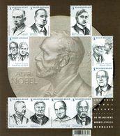 2016 - BL  244 - Prix Nobel Belges - Velletjes
